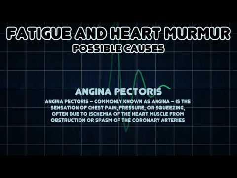 Fatigue and Heart murmur Medical Symptom   YouTube