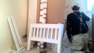 Building, Flat Pack ,bunk Beds  ,pt 1