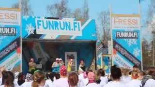 Funrun - Väriestejuoksu, Vaasa 03.05.2014