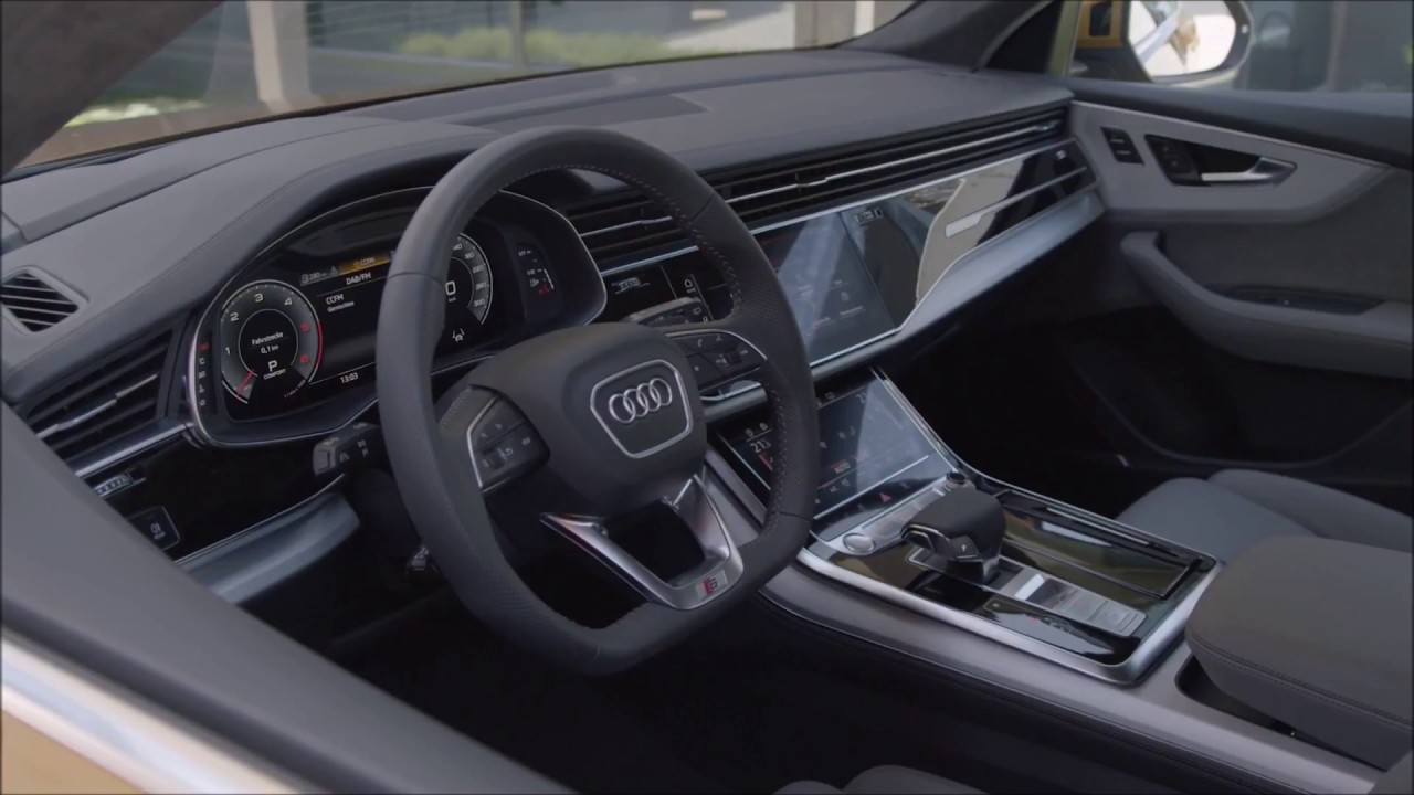 2019 Audi Q8 Interior Views Youtube