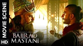 ranveer uses his tact to silence the nizam bajirao mastani movie scene