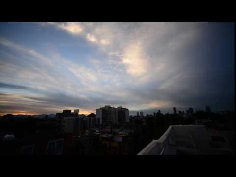 Mexico city timelapse