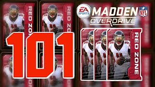 Insane Diamond Pull -101 Redzone Pack Opening - Madden Overdrive Preview Ep.6