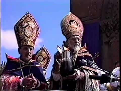 The Blessing Of the Muron in 1956 at the Etchmiadzin by his Holiness Karekin the 1st