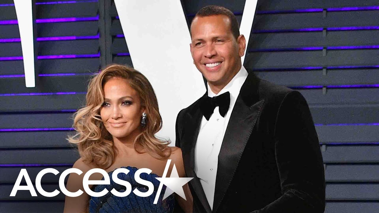 Alex Rodriguez Jams Out While JLo Giggles In Sweet New Video