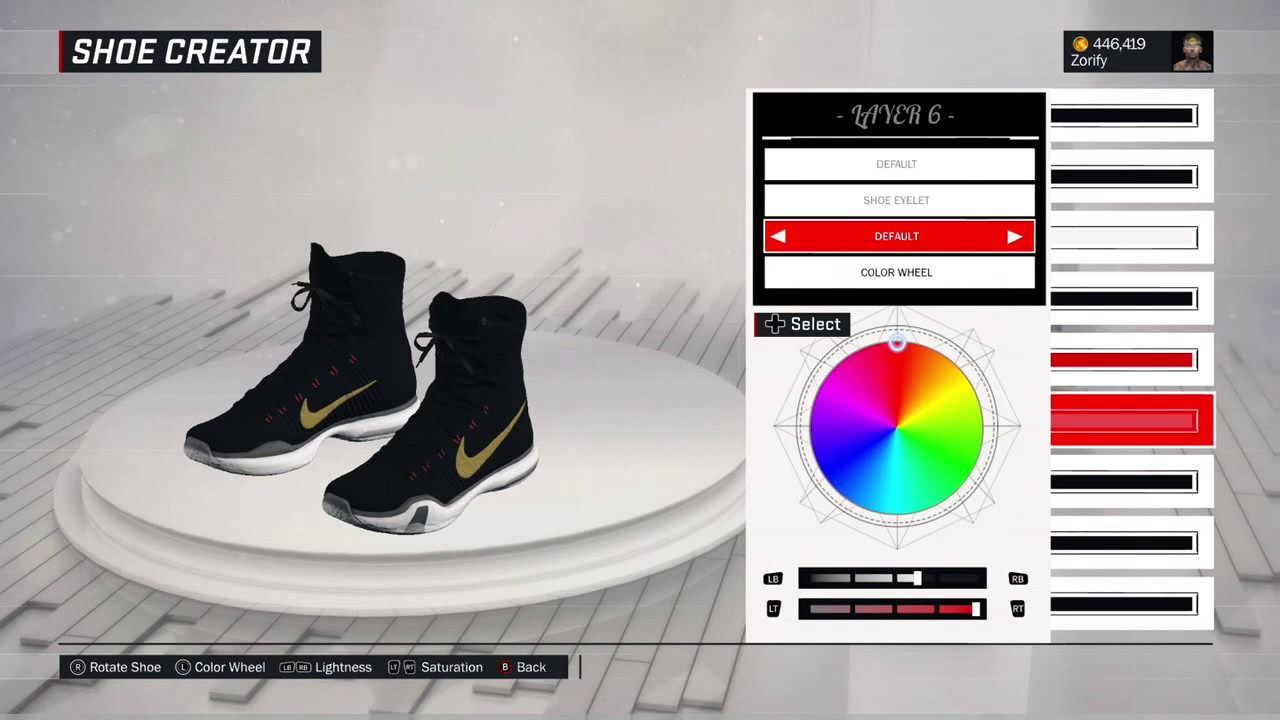 NBA 2K17 Shoe Creator - Nike Kobe 10 Elite
