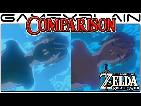 Zelda: Breath of the Wild Head-to-Head Comparison (Wii U vs Switch)