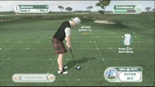 Classic Game Room HD - TIGER WOODS PGA TOUR 09 Wii review
