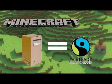 Papercraft Fairtrade PC aus Pappe | Minecraft #5 | Season 1