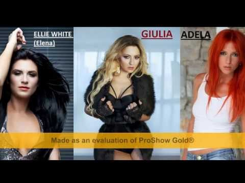 Dj Project - ( Elena & Giulia & Adela ) Mix 2009 - 2013