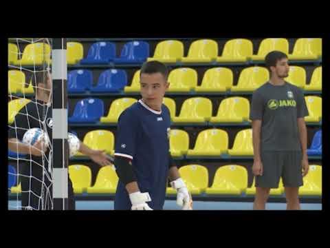 Денис Субботин в юношеской сборной России по мини-футболу
