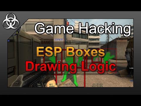 Game Hacking #13 - How to make an ESP DirectX/OpenGL Overlay/Internal CS:GO Wallhack Cheat