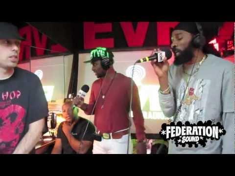 SPRAGGA BENZ & DELLY RANX LIVE - FEDERATION INVASION - EAST VILLAGE RADIO