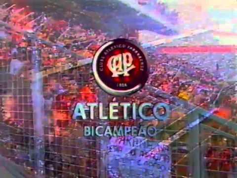 Atlético bicampeão paranaense 2001 - Atlético 2 x 2 Paraná