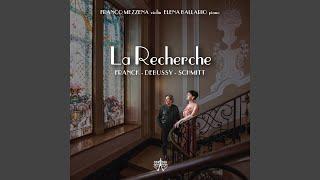 Play Sonata for Violin and Piano in A major, FWV 8, CFF 123 I. Allegretto ben moderato