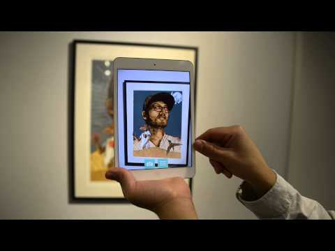 Zeke Pena's Serigraph With Augmented Reality