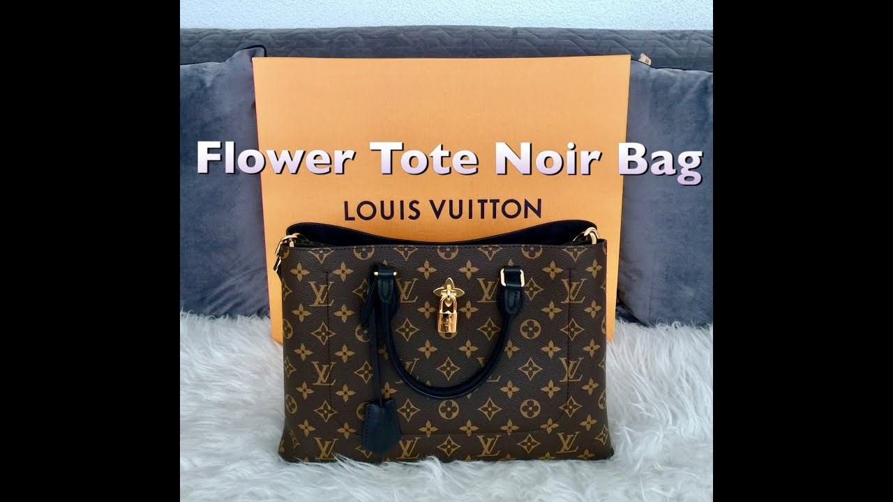 1dd29bed69bf Unboxing Louis Vuitton Flower Tote Bag