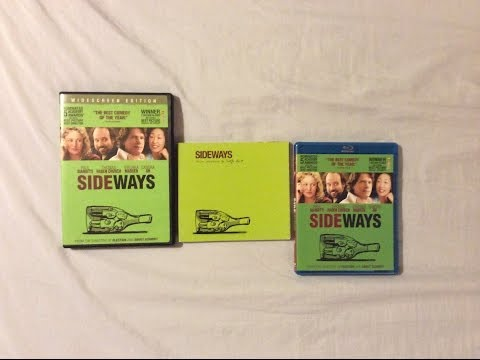 Sideways 2004  Blu Ray Discussion  and Unboxing