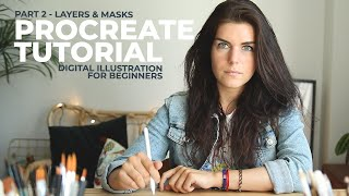 Procreate digital illustration tutorial for beginners Part 2 is here and is a procreate layers tutorial. In this video I will be showing you how to use layers properly, ...