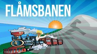 Фьорды Норвегии. Flåmsbanen(Фломская железная дорога (норв. Flåmsbana) — железная дорога на западе Норвегии протяжённостью 20,2 км. http://www.youtub..., 2014-09-06T10:31:22.000Z)