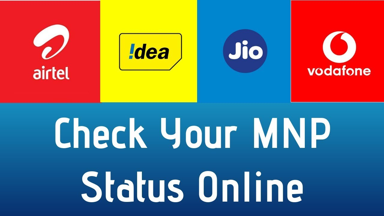 Check Mobile Number Portability Status Online & SMS - Track MNP Status