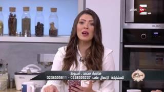 إبداعات كتابة الشعر في الأكل .. الشيف مصطفى كمال - في ست الحسن