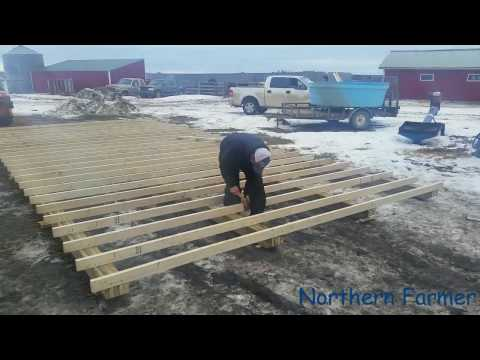 New 16x32 Shed build Part !