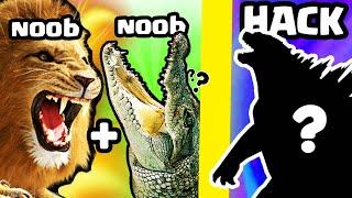 BREEDING a MAX LEVEL LION + CROCODILE // Animal Evolution