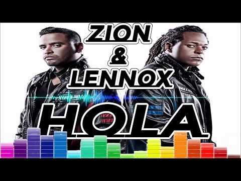 ZION & AMP LENNOX HOLA = SONIDO REMIX X [ DJ PEDRO VALLEJO ]