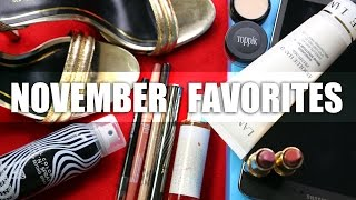 NOVEMBER FAVORITES | Tati, FAVORITES