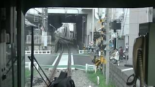 西武鉄道 萩山→小平1番 前面展望