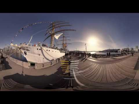 Colombian Navy Sail Ship in 360/Virtual Reality!