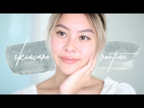 Morning Skincare Routine + Everyday Makeup (no foundation!) | JLINHH thumbnail