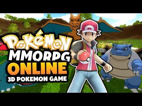 Pokemon MMORPG 3D – Pokemon Online Game!? (THE BEST POKEMON MMORPG!?) Episode #01