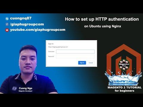 How to set up HTTP authentication on Ubuntu using Nginx