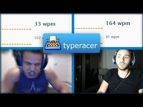 Reckful vs Tyler1 in TypeRacer