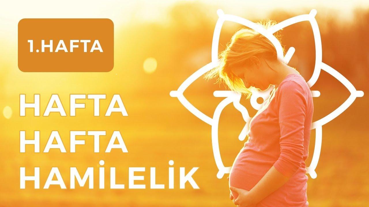 Hamilelikte 1. Hafta