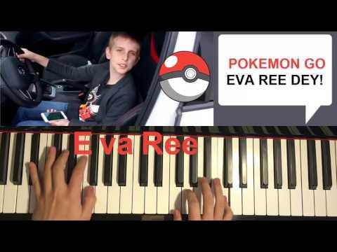 POKEMON GO SONG - I Play Pokemon Go Everyday | Misha (Piano Cover By Amosdoll)