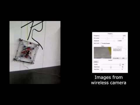 Development of A Micro Aerial Vehicle Type Wall-Climbing Robot Mechanism