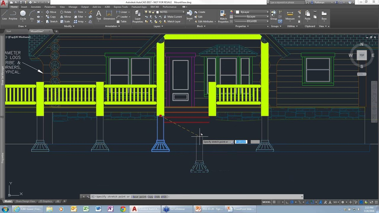 Tips tricks new features in autocad 2017 youtube for Free online cad system