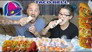Taco bell eating show