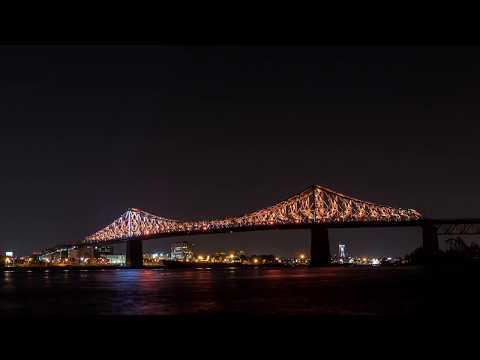 TIMELAPS - Connexions vivantes, Le pont Jacques-Cartier s'allume !