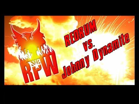 Johnny Dynamite vs. Redrum Rellik Rising Phoenix Wrestling