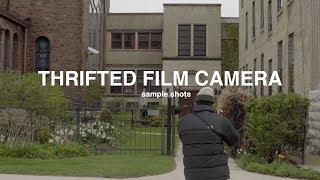 thrifted film camera | Sample Shots