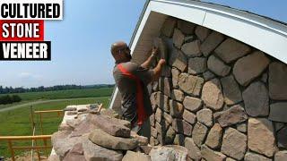 Installing Cultured Stone Veneer Fieldstone