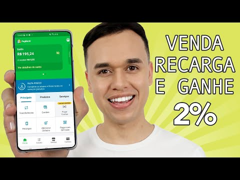 Como fazer recarga de celular pelo aplicativo do Pagseguro
