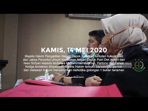 PN Depok Kabulkan Tuntutan Hukum Mati Dari JPU Kejari Depok Kepada 3 Orang Bandar Narkoba