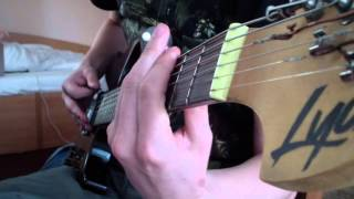 Painkiller (OST) - Cathedral Fight (Guitar Cover)