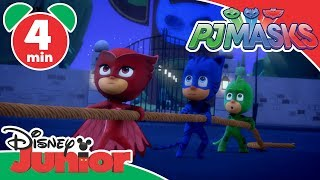 PJ Masks Super Pigiamini | Lionel Sauro fuori controllo - Disney Junior Italia