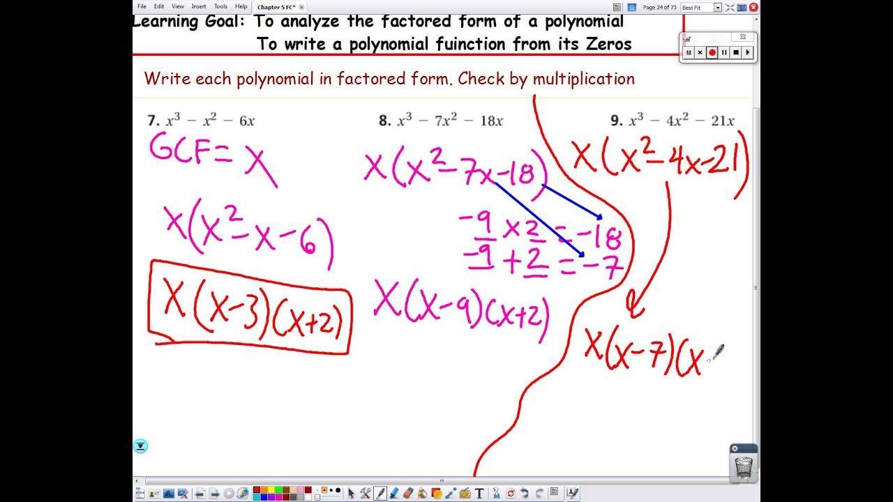 Generalized additive model